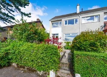 Thumbnail 3 bed end terrace house for sale in Mansewood Drive, Dumbarton