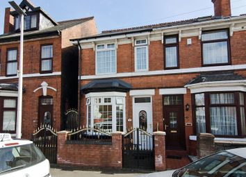 Thumbnail 2 bed semi-detached house for sale in Corporation Street, Wednesbury