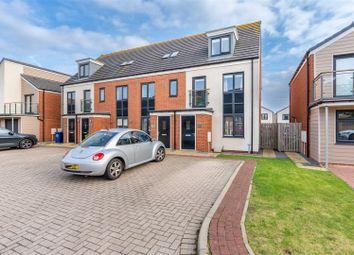 Thumbnail 3 bed town house for sale in Greville Gardens, Great Park, Newcastle Upon Tyne