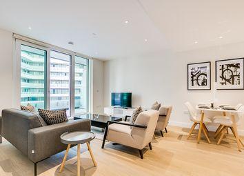 Thumbnail 1 bed flat to rent in Altissima House, Vista, Chelsea Bridge, London