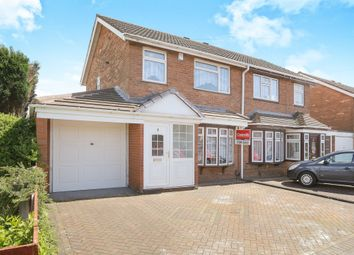 Thumbnail 3 bedroom semi-detached house for sale in Hill Street, Bilston