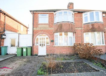 Thumbnail 3 bed semi-detached house for sale in Fairbourne Road, Leicester