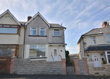 Thumbnail 3 bed semi-detached house for sale in Graig Avenue, Aberdare, Rhondda Cynon Taff