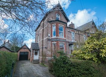 Thumbnail 5 bed semi-detached house for sale in Queens Road, Hale, Altrincham
