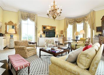 Thumbnail 3 bed flat to rent in West Halkin Street, Belgravia, London