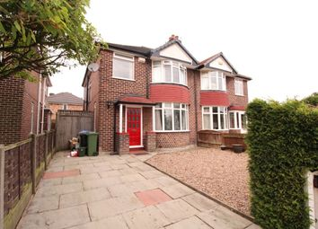 Thumbnail 3 bed semi-detached house to rent in Frieston Road, Timperley, Altrincham