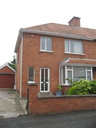 Thumbnail 3 bed terraced house to rent in Ava Crescent, Belfast