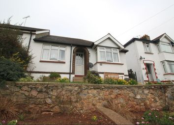 Thumbnail 2 bed bungalow for sale in Colley End Road, Paignton