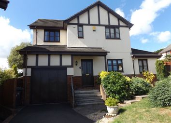 Thumbnail 4 bed detached house for sale in Shetland Close, The Willows, Torquay