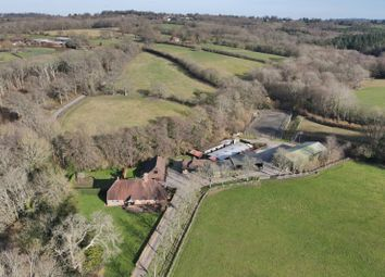 Dog Kennel Lane, Hadlow Down, Uckfield, East Sussex TN22. 8 bed equestrian property for sale