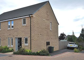 Thumbnail 3 bed semi-detached house for sale in Moor Croft Close, Mirfield, West Yorkshire