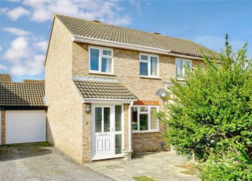 Thumbnail 2 bed semi-detached house for sale in Jellicoe Place, Eaton Socon, St. Neots, Cambridgeshire