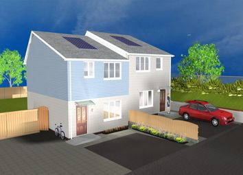 Thumbnail 2 bed semi-detached house for sale in Tamar Way, Plymouth