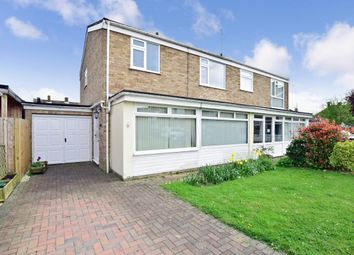 Thumbnail 3 bed semi-detached house to rent in Elgar Close, Tonbridge