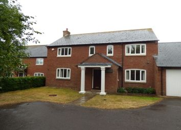 Thumbnail 4 bed detached house to rent in Millands Lane, Kilve, Bridgwater