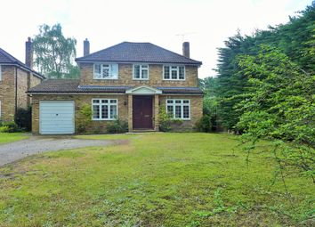 Thumbnail 4 bed detached house to rent in Wood Lane, Fleet