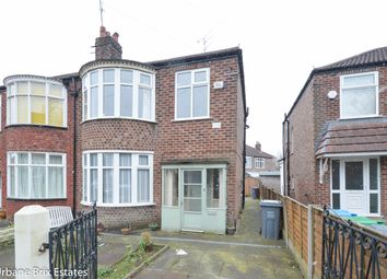 Thumbnail 3 bedroom semi-detached house for sale in Oakway East Didsbury, Manchester