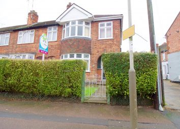 Thumbnail 3 bed end terrace house for sale in Cavendish Road, Leicester