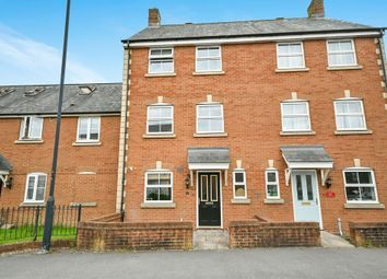Thumbnail 3 bedroom town house for sale in Pioneer Road, Swindon