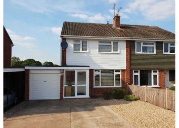 Thumbnail 3 bed semi-detached house for sale in St. Judes Avenue, Studley