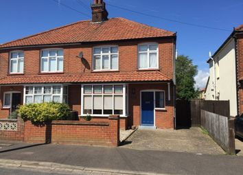 Thumbnail 3 bedroom semi-detached house for sale in Queens Road, Felixstowe