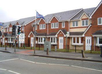 Thumbnail 3 bed mews house to rent in Warrington Road, Glazebury, Warrington