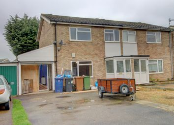 Thumbnail 3 bed semi-detached house for sale in Mountbatten Way, Ravensthorpe, Peterborough
