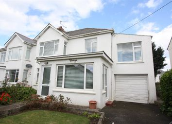 Thumbnail 5 bed semi-detached house for sale in Trencreek Lane, Trencreek, Newquay