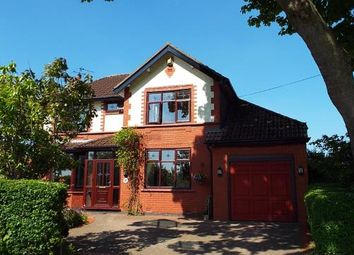 Thumbnail 5 bed detached house for sale in Dam Lane, Rixton, Warrington, Cheshire