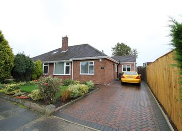Thumbnail 2 bed semi-detached bungalow for sale in Birchwood Avenue, Woodlands Park, North Gosforth, Newcastle Upon Tyne
