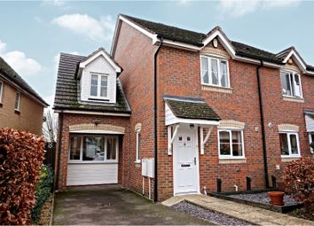 Thumbnail 3 bed semi-detached house for sale in The Southerns, Sutton, Ely