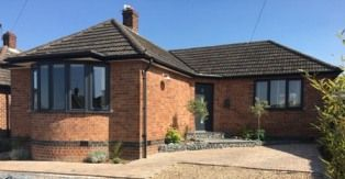 Thumbnail 2 bed detached bungalow for sale in Atherstone Road, Loughborough