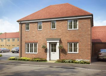 "Thumbnail 3 bed detached house for sale in ""The Clayton Corner "" at Brookside, East Leake, Loughborough"