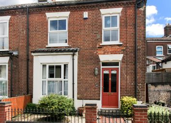 Thumbnail 3 bedroom end terrace house for sale in Marion Road, Norwich