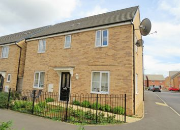 Thumbnail 4 bed detached house for sale in Everest Way, Peterborough