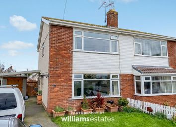 Thumbnail 2 bed semi-detached house for sale in Third Avenue, Prestatyn