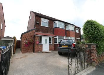 Thumbnail 3 bedroom semi-detached house for sale in Hartington Road, Great Moor, Stockport
