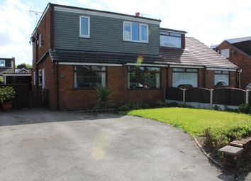 Thumbnail 4 bed semi-detached house for sale in Claremont Road, Milnrow, Rochdale