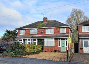 3 bed semi-detached house for sale in Bradgate Road, Anstey, Leicester LE7