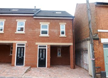 Thumbnail 3 bedroom town house for sale in West Avenue, Derby