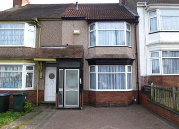 Thumbnail 2 bedroom terraced house for sale in Leyland Road, Chapelfields, Coventry