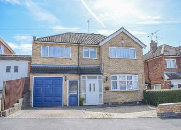 Thumbnail 5 bedroom detached house for sale in Bollington Road, Oadby, Leicester