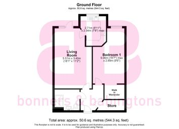 Thumbnail 1 bed flat for sale in Longwick Road, Princes Risborough