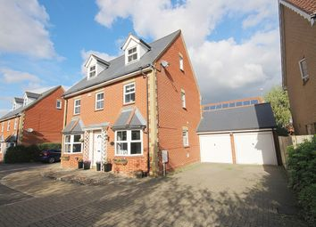Thumbnail 5 bed detached house for sale in Melford Grove, Great Notley, Braintree