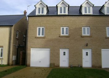 Thumbnail 4 bed town house to rent in Primrose Crescent, March