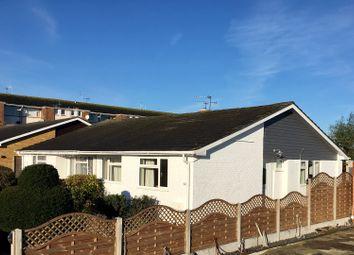 Thumbnail 2 bed semi-detached bungalow for sale in Highcroft Crescent, Bognor Regis