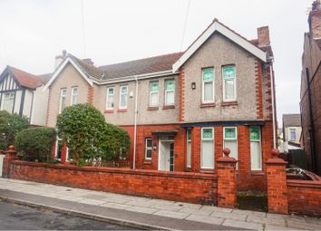 Thumbnail 4 bed semi-detached house for sale in Woodville Avenue, Crosby