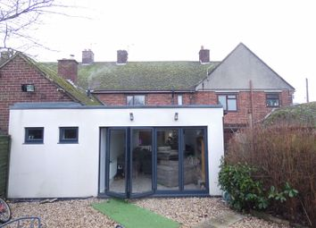 Thumbnail 3 bed terraced house for sale in Kettlethorpe Road, Kettlethorpe, Lincoln