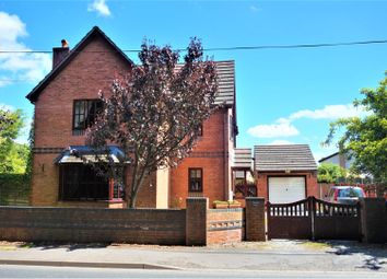 Thumbnail 3 bed detached house for sale in Salop Road, Wrexham