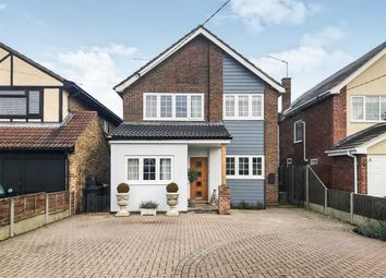 Thumbnail 4 bed detached house for sale in Mayfield Avenue, Hullbridge, Essex